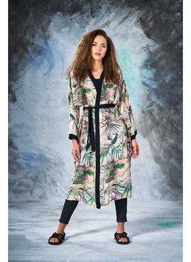 Eda Atalay Kimono Siyah